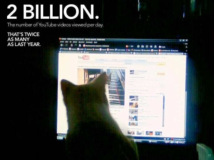 4 BILLION. The number of images hosted on Flickr.                                   THAT'S 13X MORE THAN THE LIBRARY OF CO...