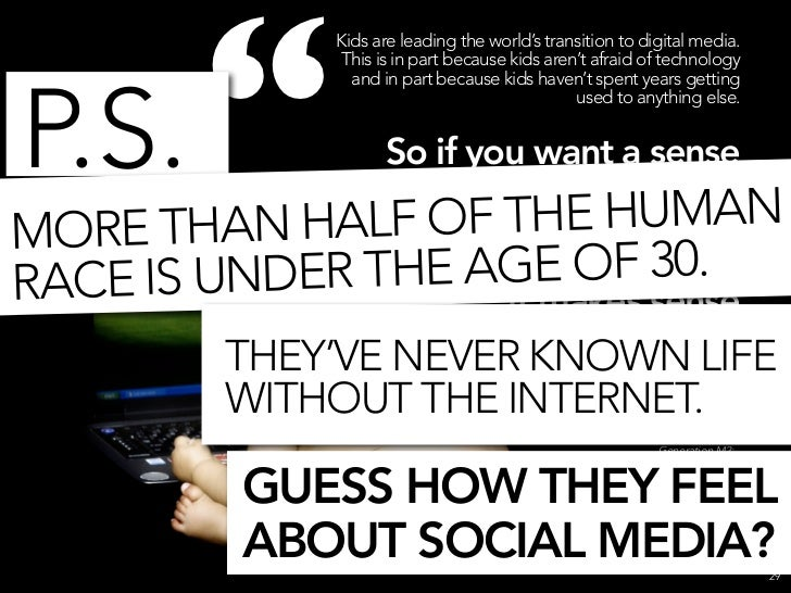 WHAT THE F**K IS SOCIAL MEDIA NOW?                       31