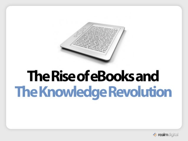 E-Books and the Knowledge Revolution