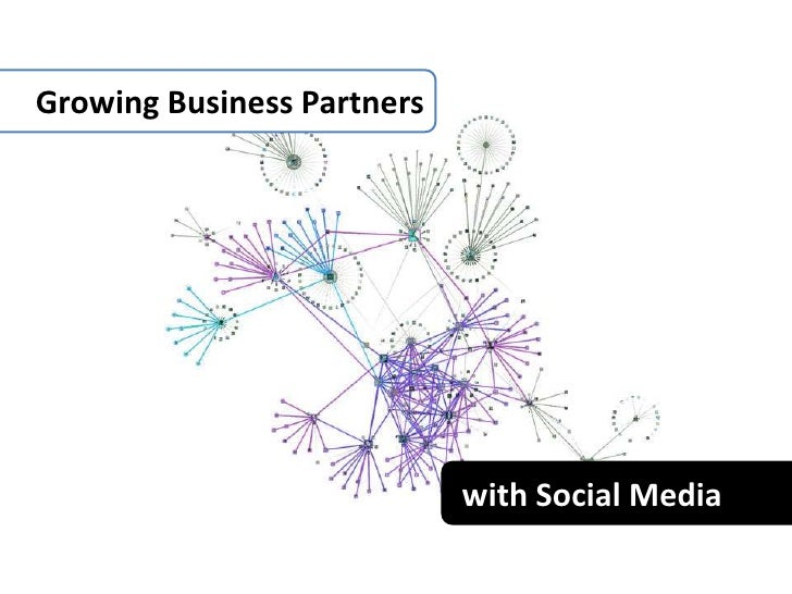 Growing Business Partners<br />with Social Media<br />