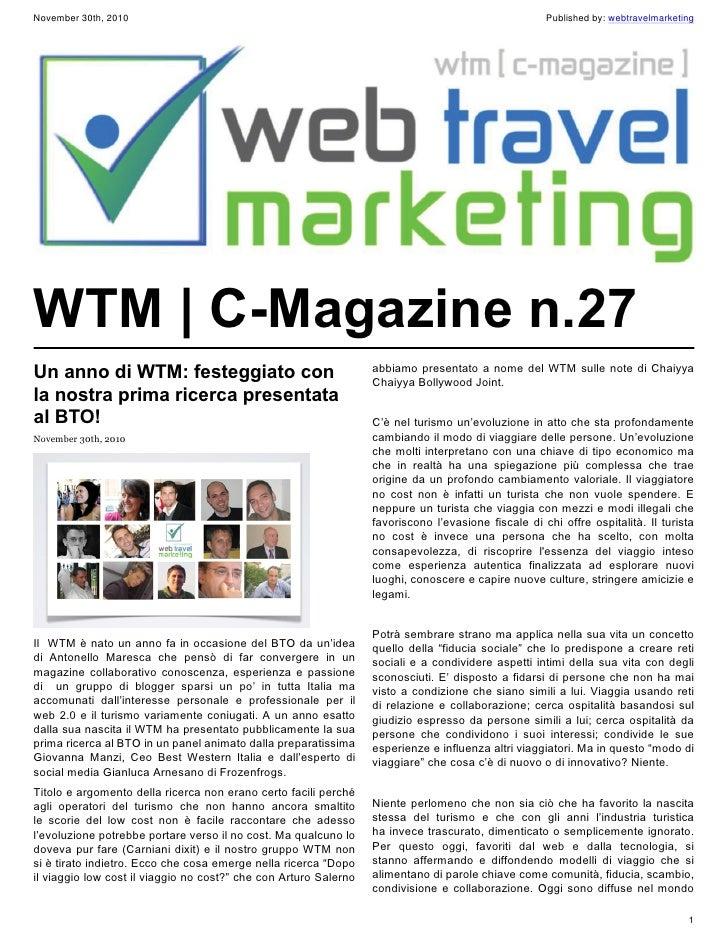 November 30th, 2010                                                                                  Published by: webtrav...