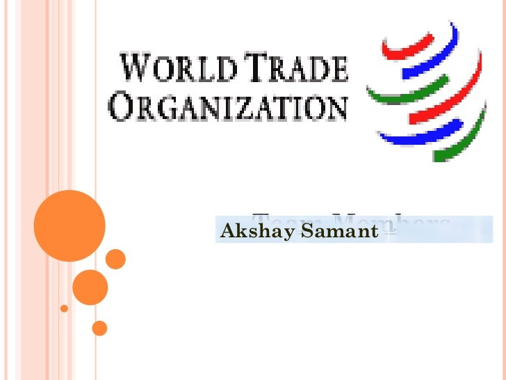 Team Members  Akshay Samant .