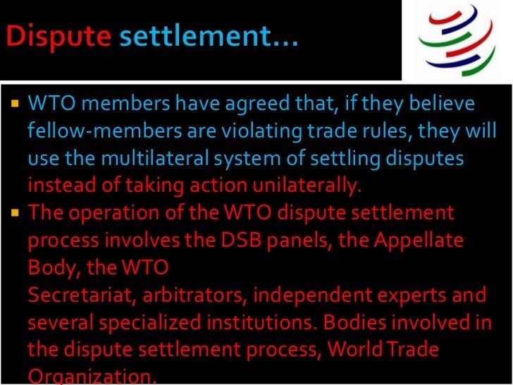 WTO Dispute Settlement Body- Analysis - blog.nextias.com