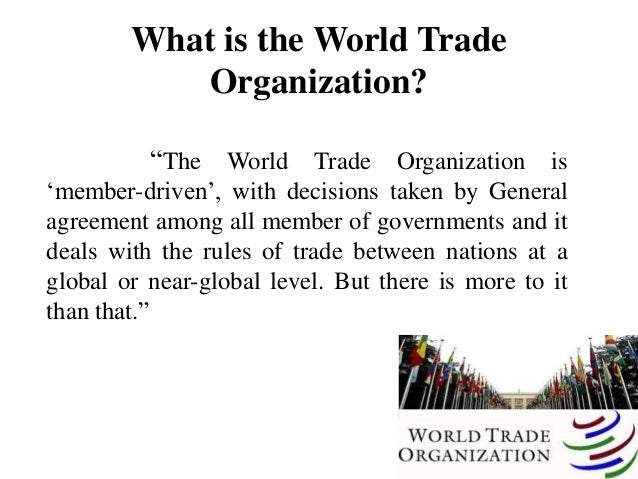wto and its impact on international Pdf | the purpose of the present paper is to examine the impact of world trade  organization on foreign trade in india on january 1, 1995 when world trade.