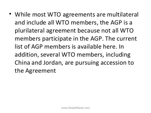 Wto dispute settlement studsplanet 86 while most wto agreements platinumwayz