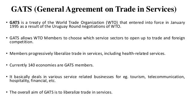 Gats Agreement Between Belize And Costa Rica