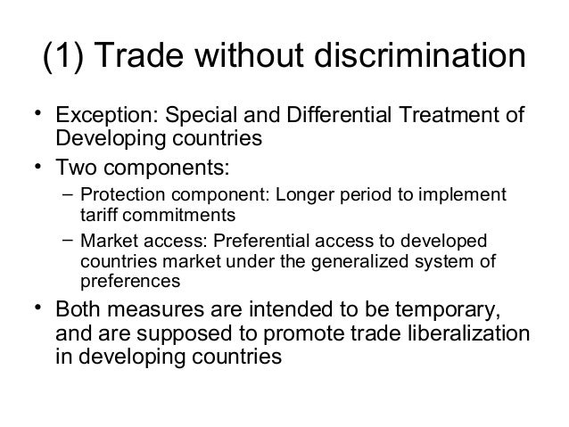 what the us must do to promote trade with other developing countries Importantly, though, export dependency does not necessarily have to mean  greater levels of export  focused on trade facilitation and market access for the  exports of developing countries  in other words, although advanced and  developing countries  the pacific islands did not see any significant change in  their.