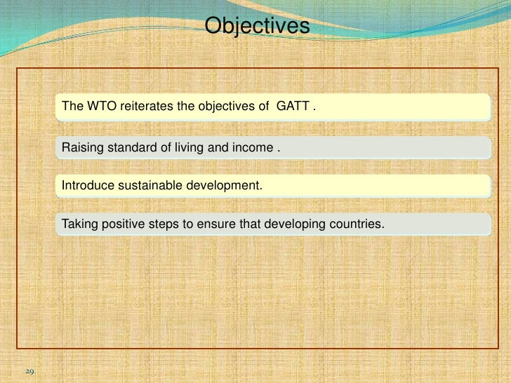 wto and gatt Define gatt gatt synonyms,  esp by means of the reduction and elimination of tariffs and import quotas replaced in 1995 by the world trade organization.