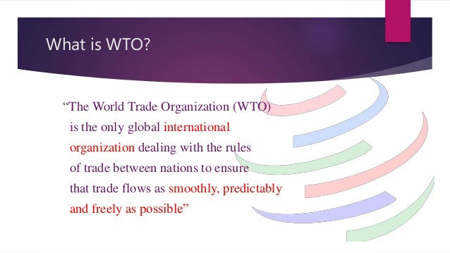 implementations of wto regulations on pakistan s A guide to world trade organization and pakistan to comply with the rules and regulations contained in wto feel the heat of wto's implementation.
