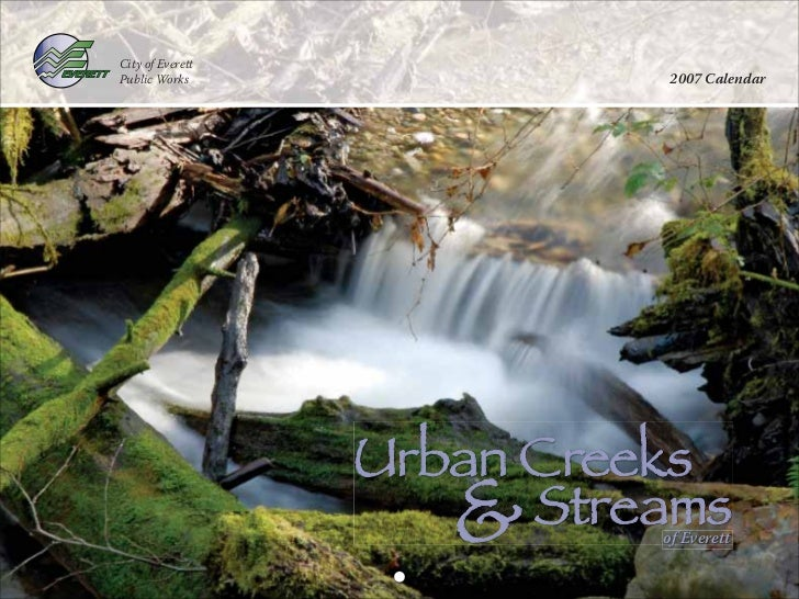"City of EverettPublic Works                 2007 Calendar                  !""#$%&""(()*                     +              ..."