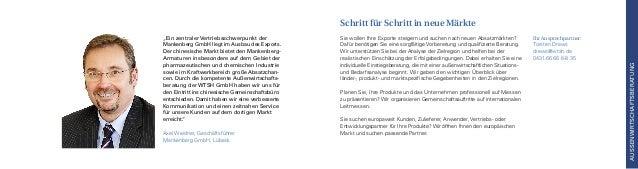 Ihr Ansprechpartner: Torsten Drews drews@wtsh.de 0431.66 66 6-8 35 Sie wollen Ihre Exporte steigern und suchen nach neuen ...