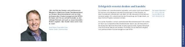 Ihr Ansprechpartner: Dr. Ulrich Hausner hausner@wtsh.de 0431.66 66 6-8 50 Sie möchten sich zukunftsorientiert aufstellen u...