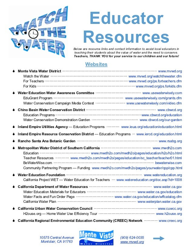 Educator                                                           Resources                                              ...