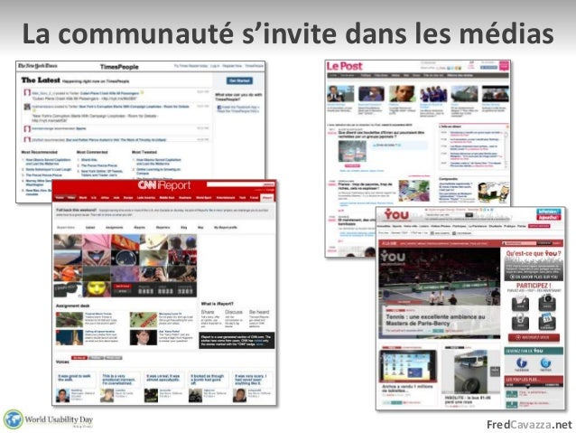 WUD 2010 Paris : L'information sociale Slide 3