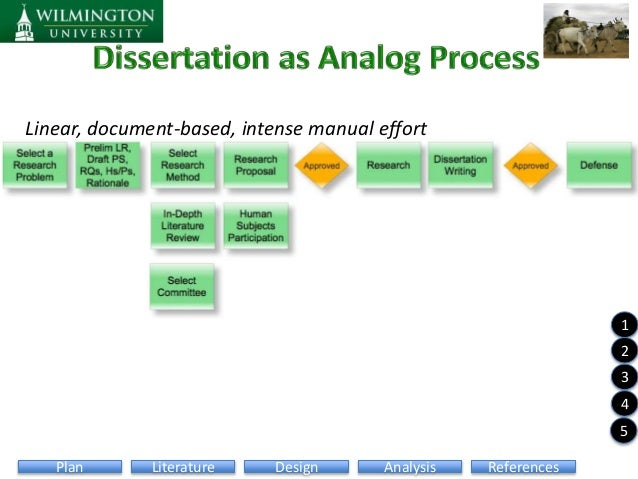 dissertation review process