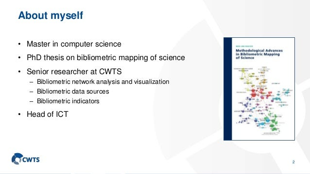 A scientometric perspective on university ranking Slide 3