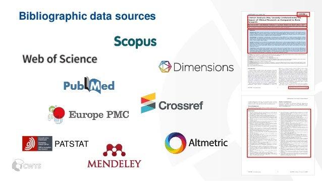 Open data sources in VOSviewer Slide 2