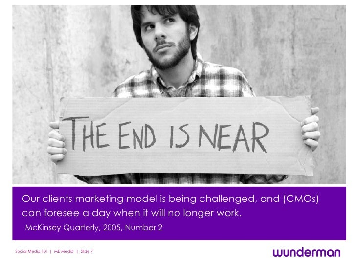 Our clients' marketing model is being challenged, and CMOs can foresee a day when it will no longer work.   McKinsey Quart...