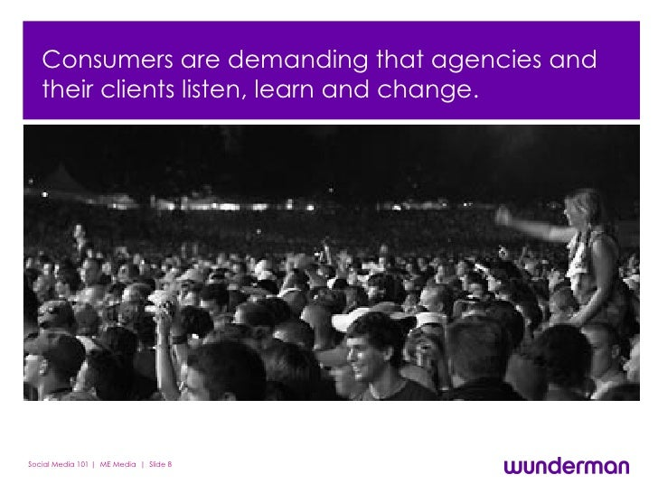 People are free and are demanding their voices be heard.  Consumers are demanding that agencies and their clients listen, ...