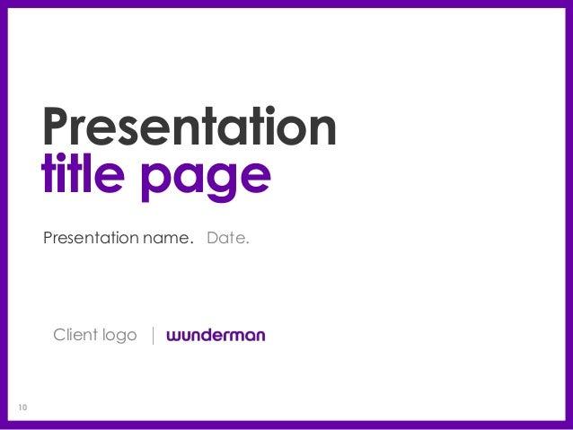 19e03007a1c3c6 Client logo  10. 10 Client logo10 Presentation title ...