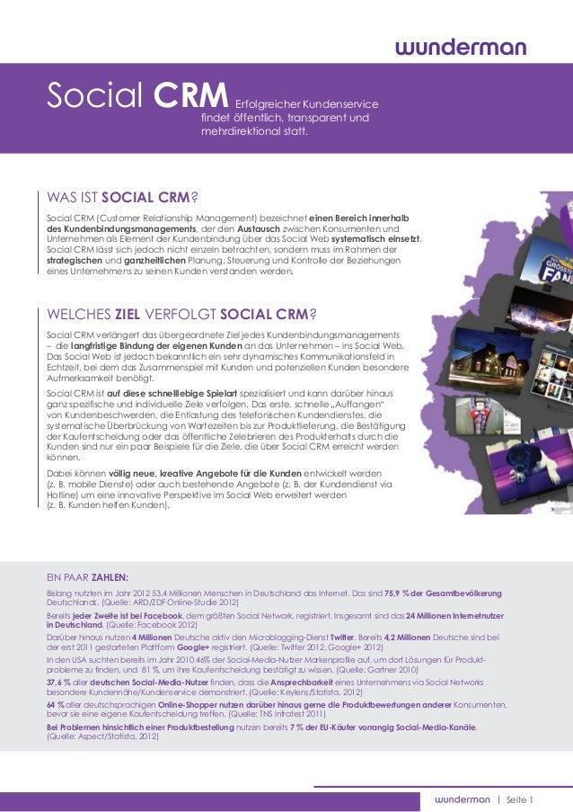 Social CRM                                      Erfolgreicher Kundenservice                                          find...