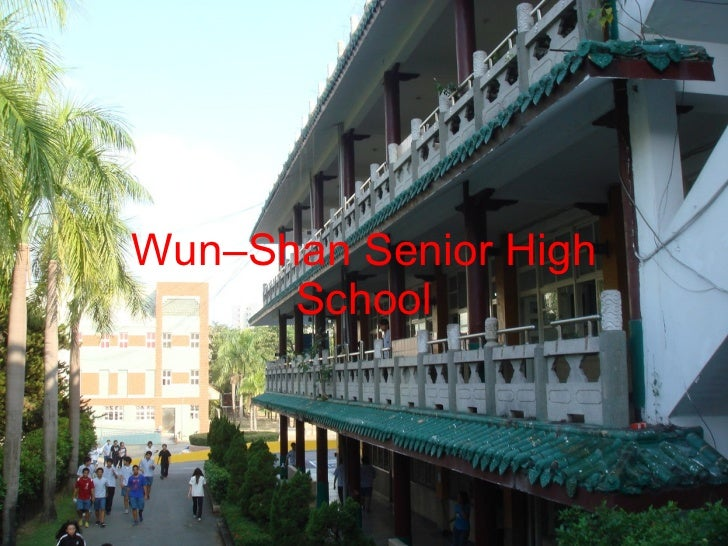 Wun–Shan Senior High School