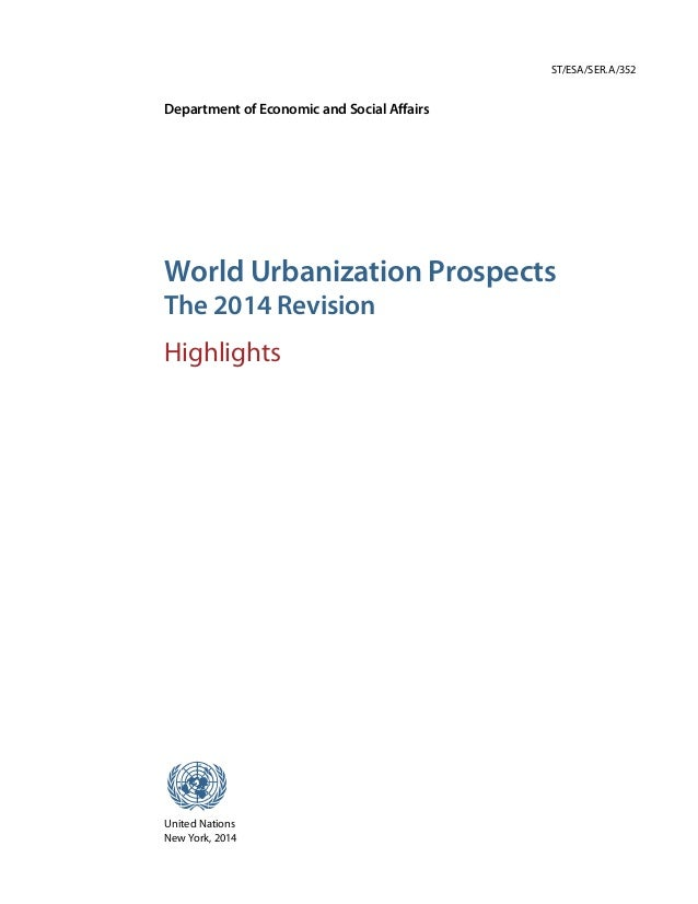 2014 revision of the world urbanization prospects fandeluxe Image collections