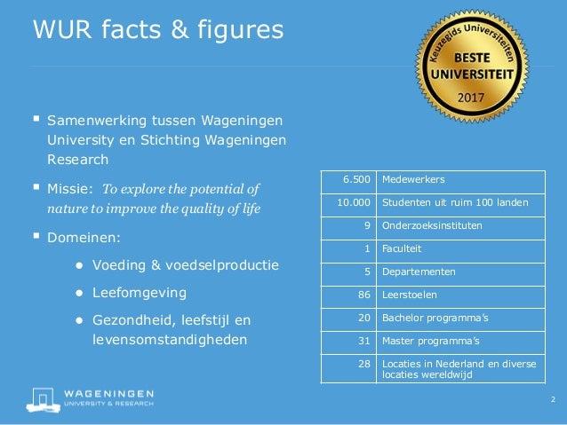 Gepersonaliseerd social intranet van Wageningen University & Research Slide 2