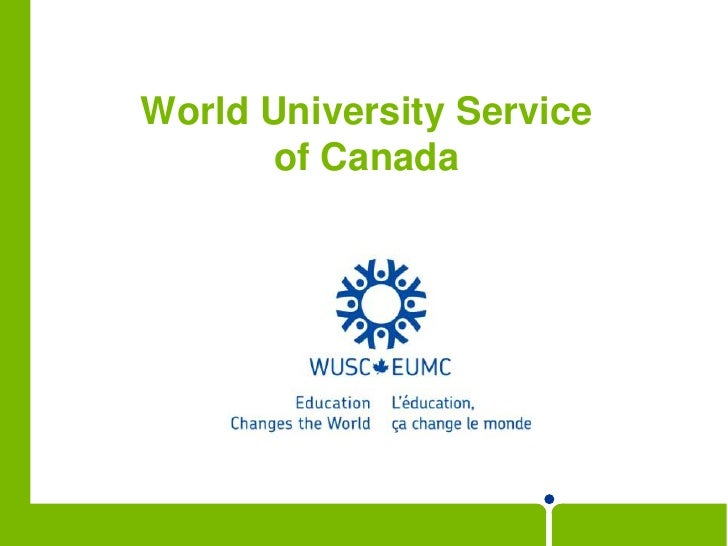 World University Service of Canada<br />
