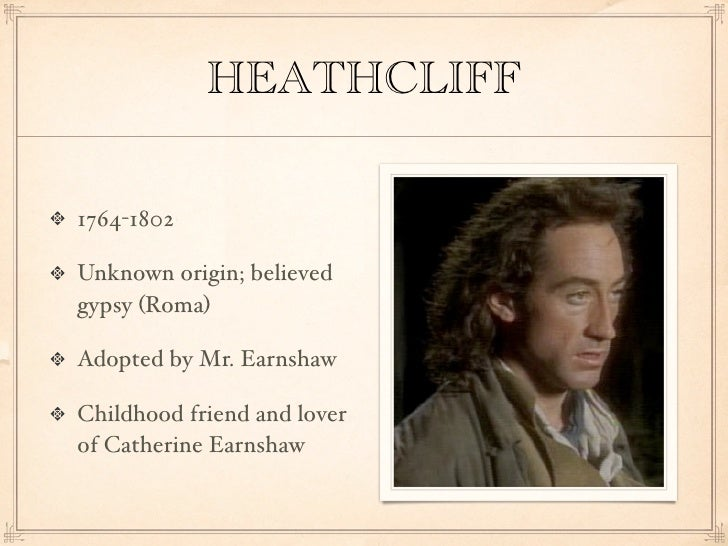 characteristics of heathcliff in wuthering heights