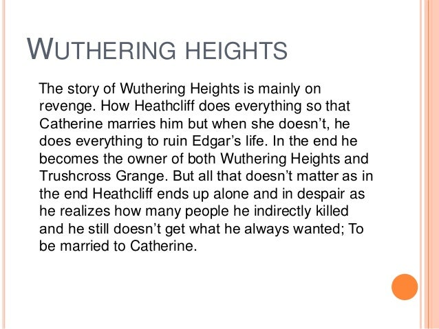wuthering heights marriage essay