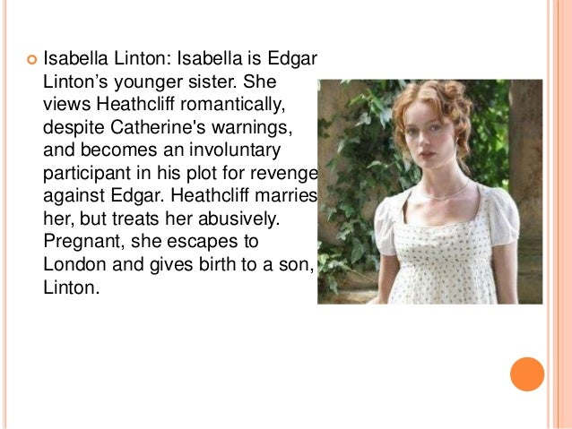 wuthering heights 8 iuml130cent isabella linton isabella is edgar