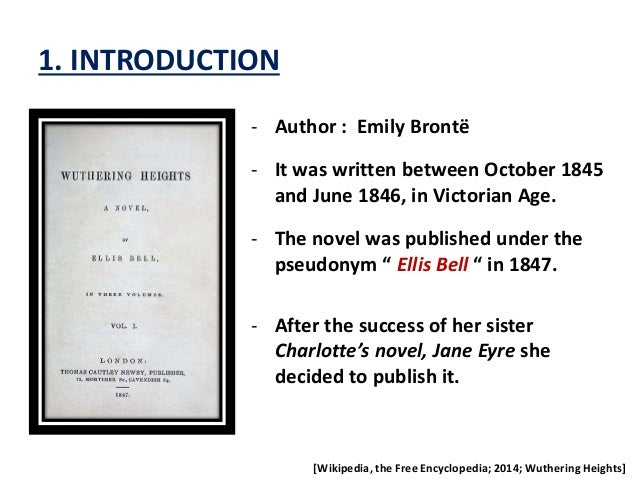 a summary of the novel wuthering heights by charlotte bronte Biography: emily bronte, free study guides and book notes including comprehensive chapter analysis, complete summary analysis, author biography information, character profiles, theme.