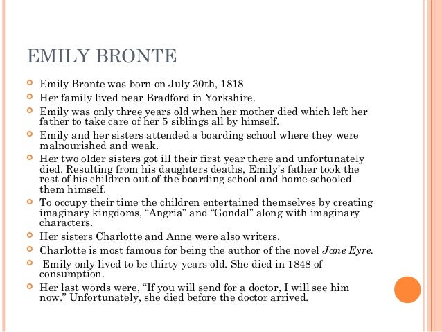 a plot overview wuthering heights Wuthering heights emily brontë ← plot overview → in the late winter months of 1801, a man named lockwood rents a manor house called thrushcross.