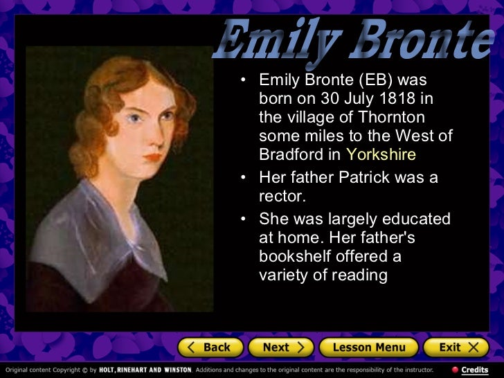 emily jane brontë's archetypal motifs a When women read charlotte bronte's jane eyre, for example, we find inspiration   she maintains a blog about mythic and archetypal motifs in current culture at.