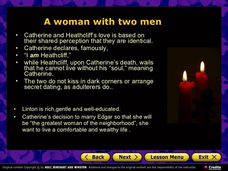 True love catherine earnshaw and edgar linton and heathcli