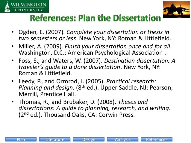 Destination Dissertation Foss Waters