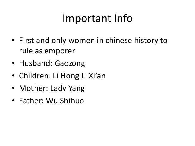 The Demonization of Empress Wu