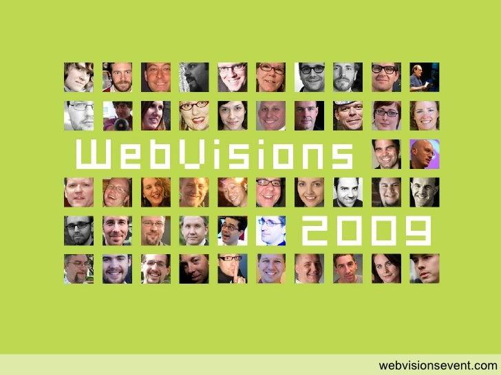 start webvisionsevent.com