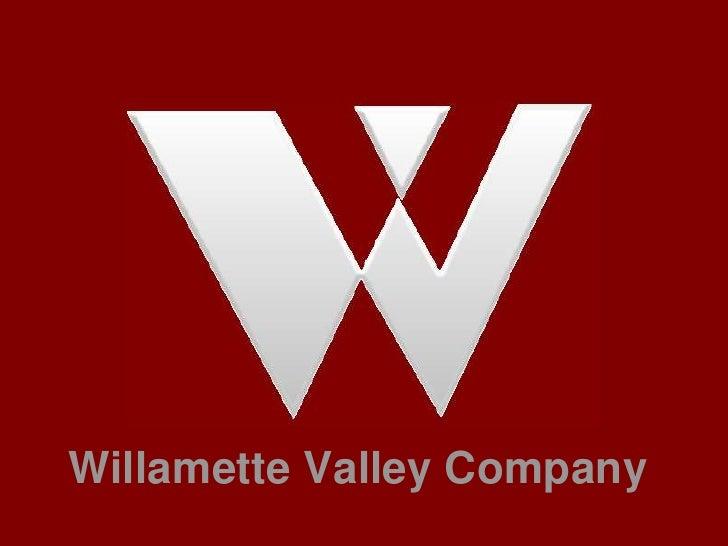 Willamette Valley Company<br />