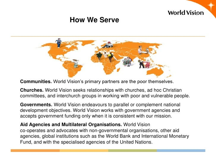 world vision case study Programme innovation case studies: child protection and participation as part of world vision uks dfid programme partnership arrangement (ppa) in 2016.