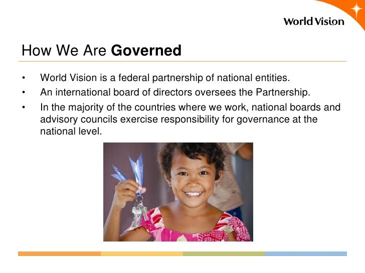 8 components of world visionsfederated structure - World Vision Organizational Structure