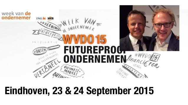 Eindhoven, 23 & 24 September 2015