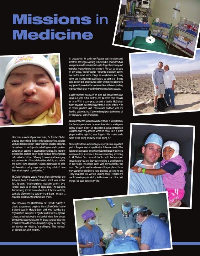 WVExecutive Article Tom McClellan, MD FACS Slide 3