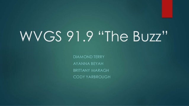 """WVGS 91.9 """"The Buzz"""" DIAMOND TERRY AYANNA BEYAH BRITTANY MARAGH CODY YARBROUGH"""