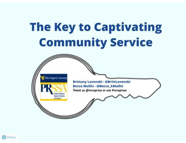WVU - Community Service