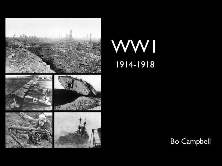 WW11914-1918            Bo Campbell