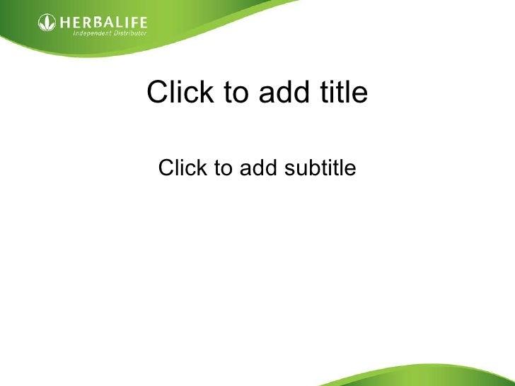 Click to add title <ul><li>Click to add subtitle </li></ul>