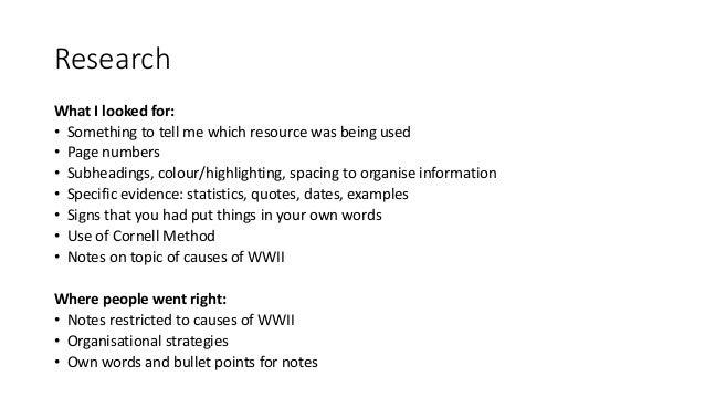 Good Health Essay Causes Of Wwii Essay Feedback  English As A World Language Essay also Essay On Library In English Ww Essay Feedback Ppt Sample Of English Essay