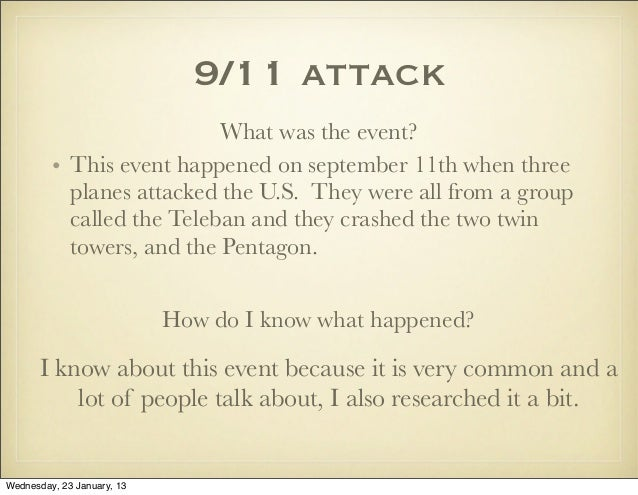 september 11 prior knowledge